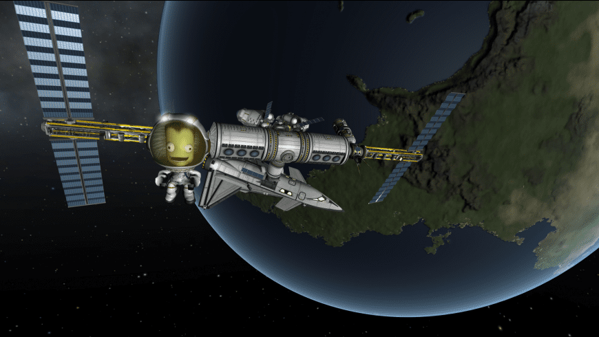 Kerbal Space Program for Mac - review, screenshots