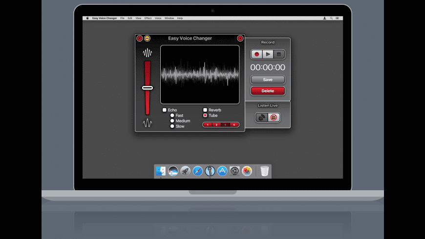 Easy Voice Changer for Mac - review, screenshots