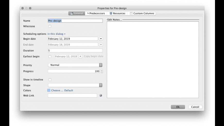 GanttProject for Mac - review, screenshots