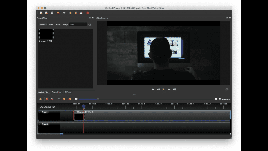 OpenShot Video Editor for Mac - review, screenshots