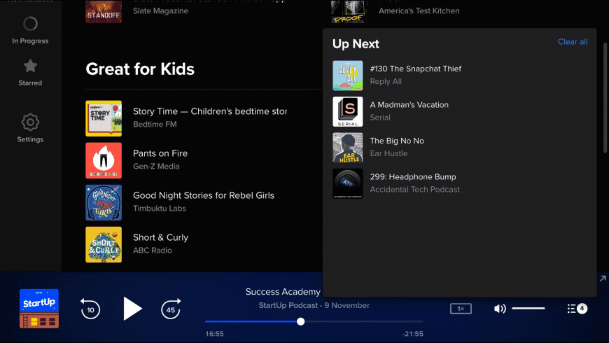 Pocket Casts for Mac - review, screenshots