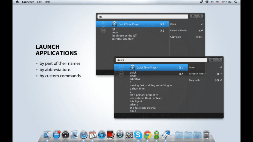 Launcher for Mac - review, screenshots