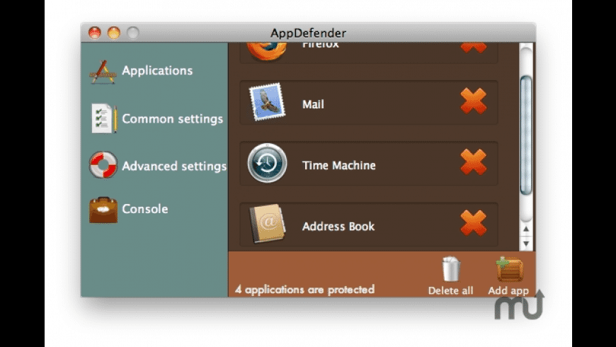 AppDefender for Mac - review, screenshots