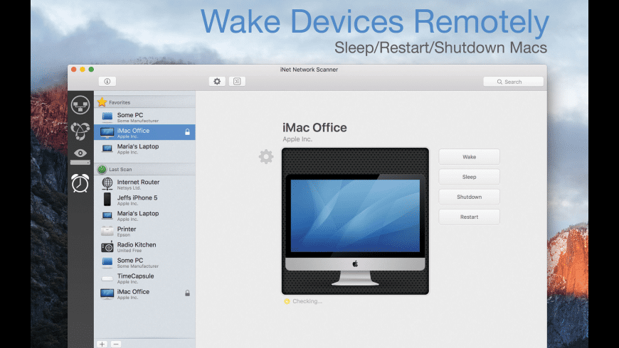 iNet Network Scanner for Mac - review, screenshots