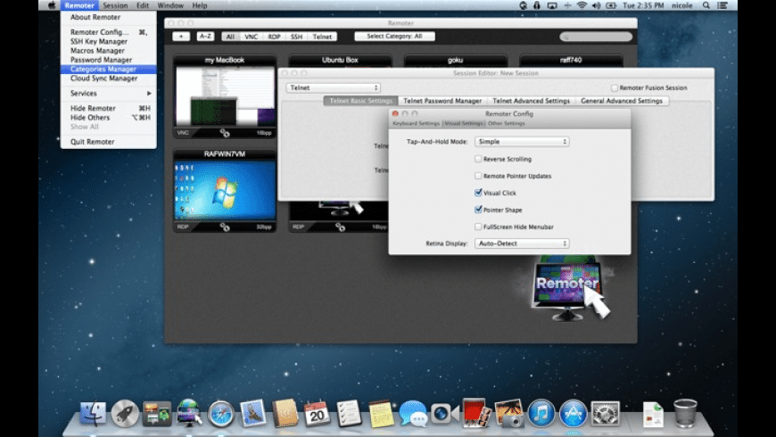 Remoter for Mac - review, screenshots