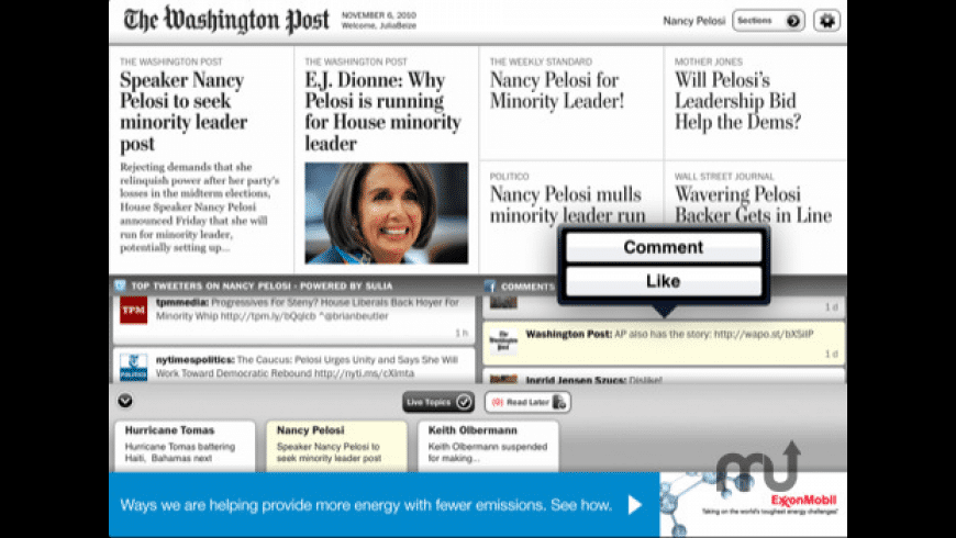 The Washington Post for iPad for Mac - review, screenshots