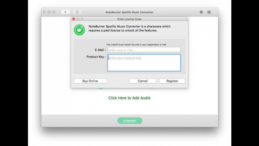NoteBurner Spotify Music Converter for Mac - review, screenshots