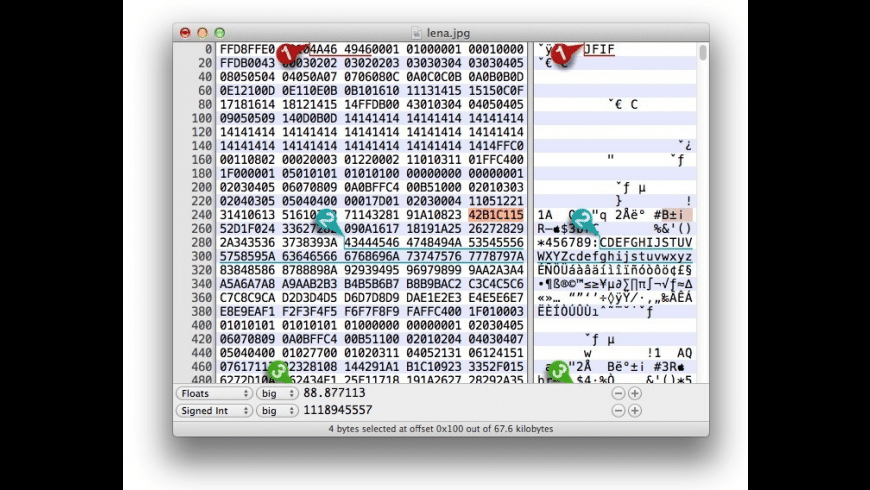 Hex Fiend for Mac - review, screenshots