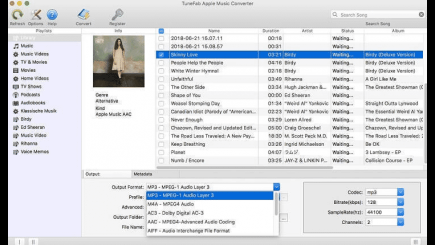 TuneFab Apple Music Converter for Mac - review, screenshots