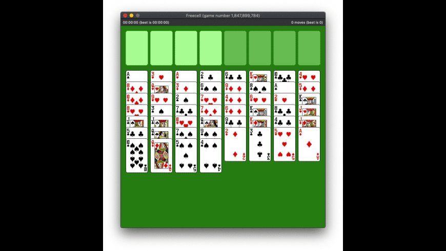 Freecell for Mac - review, screenshots
