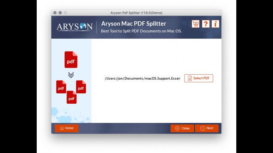 Aryson PDF Manager for Mac - review, screenshots
