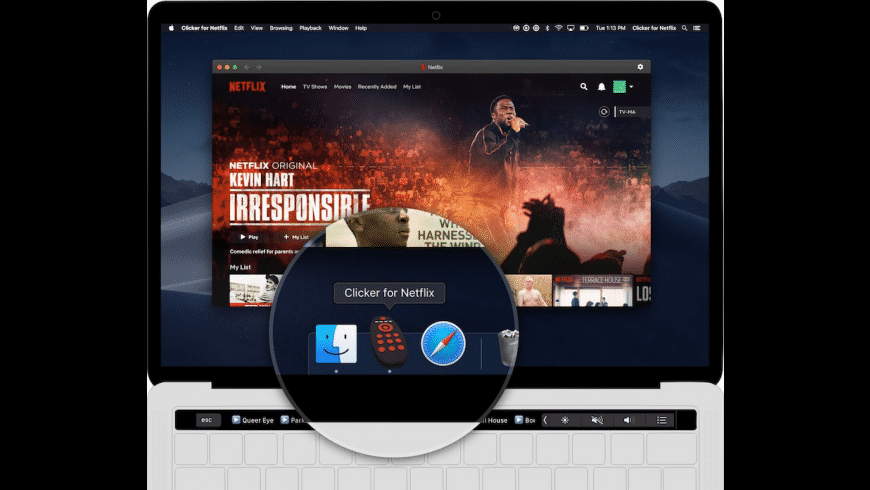 Clicker for Netflix for Mac - review, screenshots