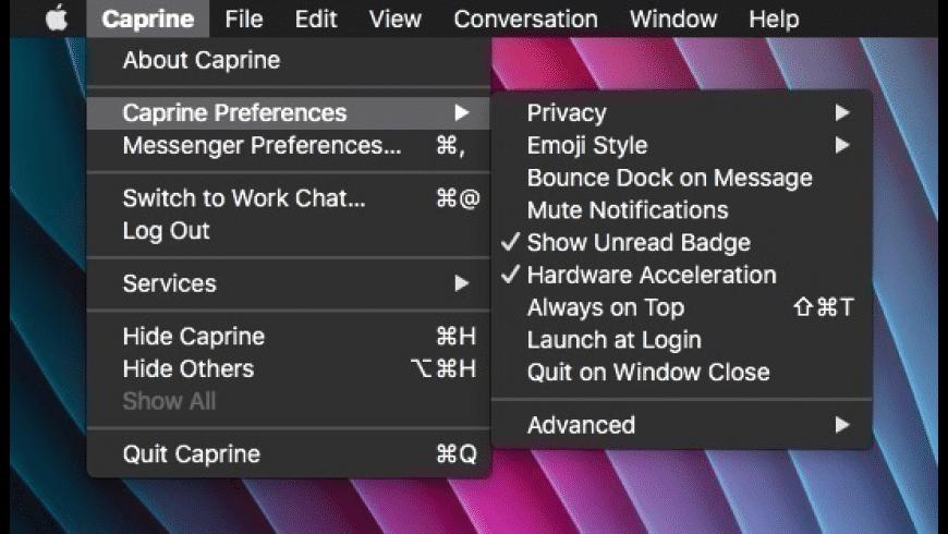Caprine for Mac - review, screenshots