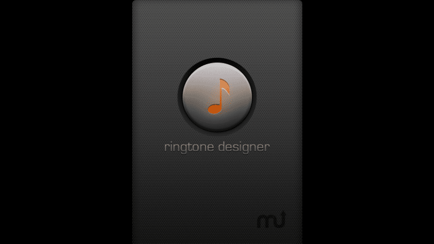 Ringtone Designer for Mac - review, screenshots