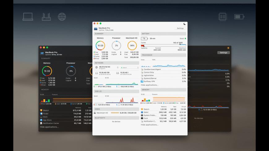 iStatistica for Mac - review, screenshots