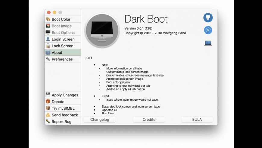 Dark Boot for Mac - review, screenshots