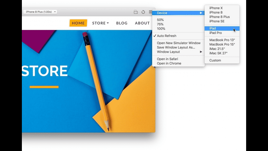 RapidWeaver for Mac - review, screenshots
