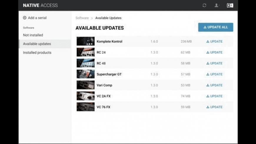 Native Access for Mac - review, screenshots