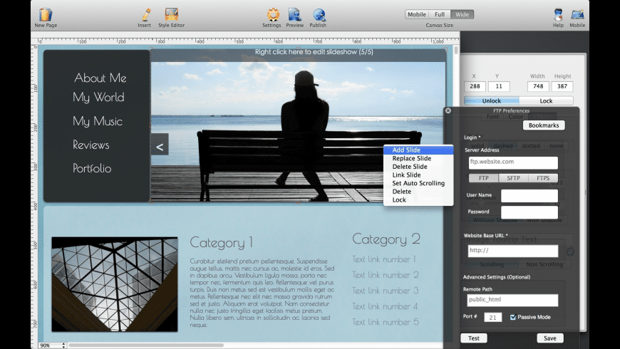 HTML Egg Classic Edition for Mac - review, screenshots