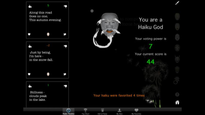 Haiku Wind Pro HD for Mac - review, screenshots