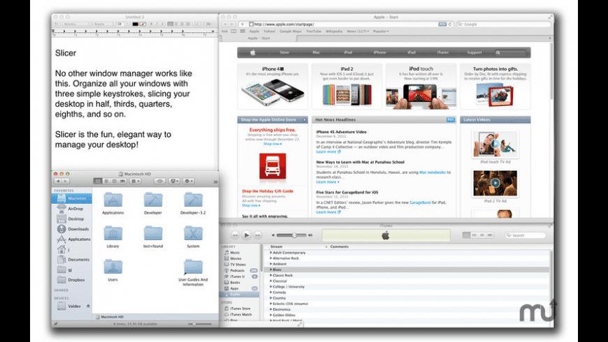 Slicer for Mac - review, screenshots