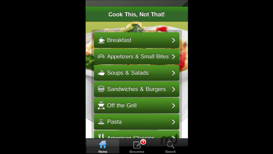 Cook This, Not That! for Mac - review, screenshots