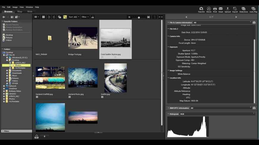 Nikon ViewNX-i for Mac - review, screenshots