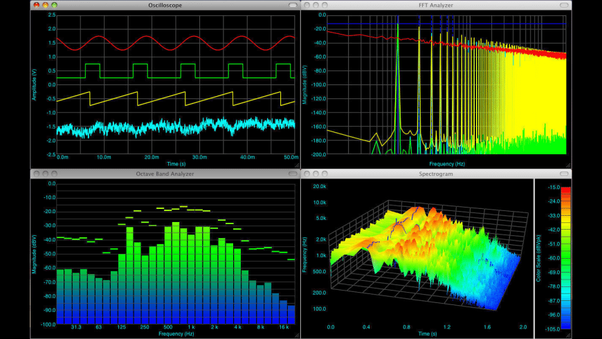 SignalScope Pro for Mac - review, screenshots