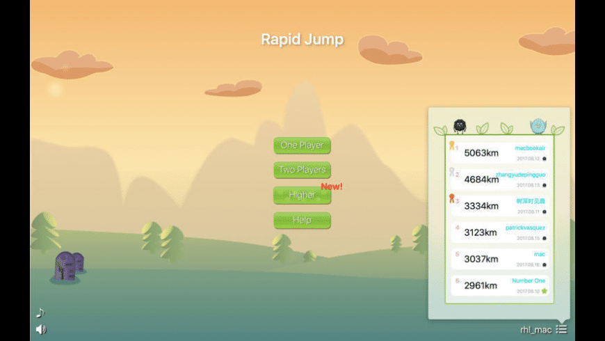 Rapid Jump for Mac - review, screenshots