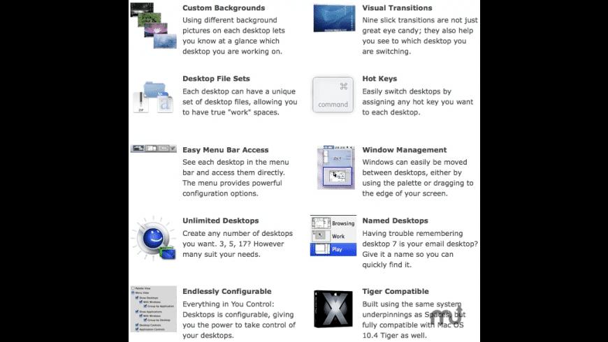 You Control: Desktops for Mac - review, screenshots