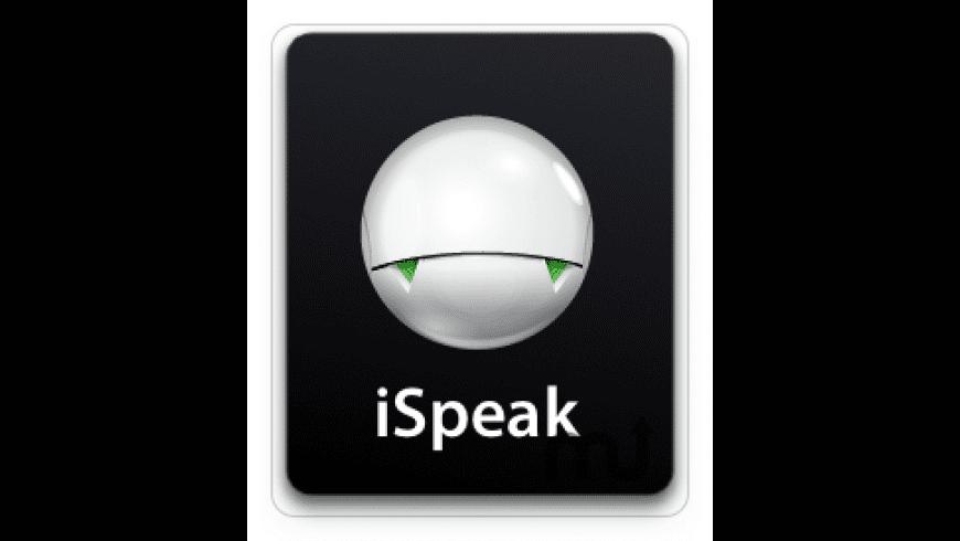 iSpeak for Mac - review, screenshots