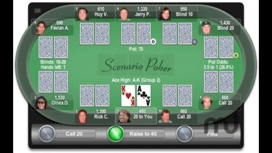 Scenario Poker for Mac - review, screenshots