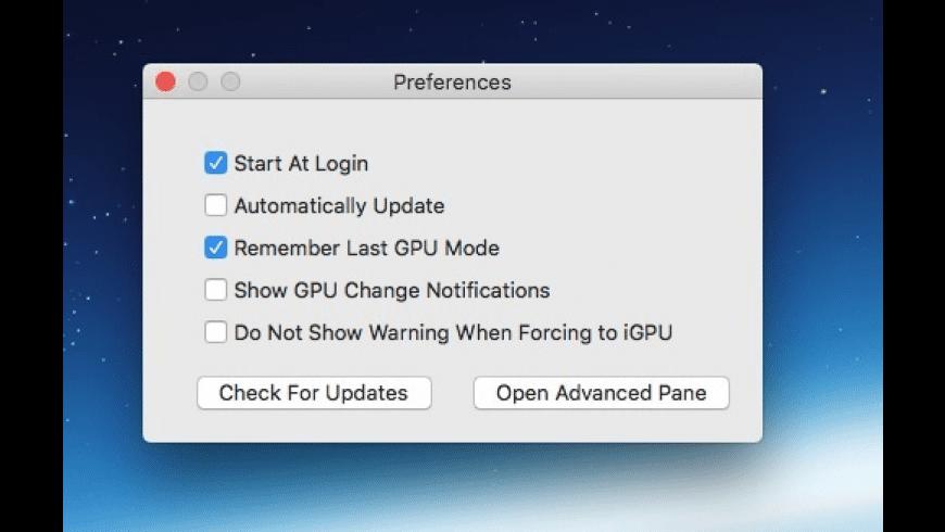 gSwitch for Mac - review, screenshots