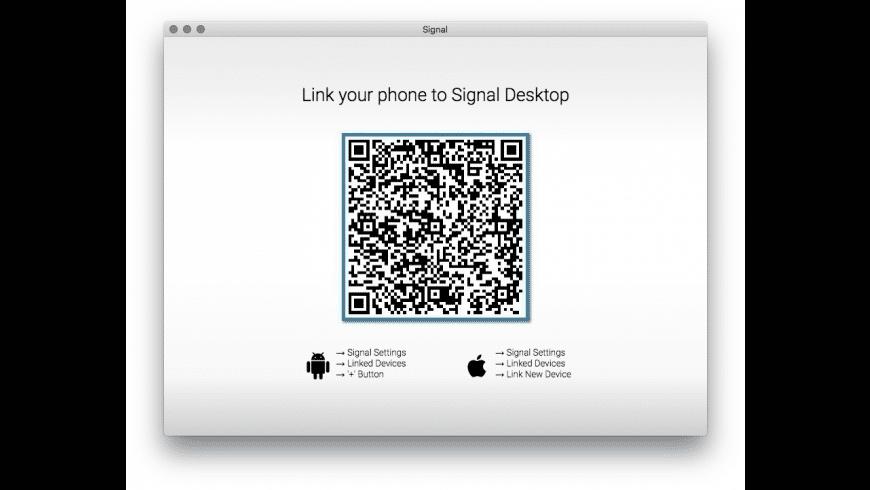 Signal for Mac - review, screenshots