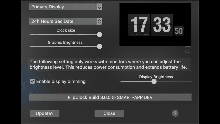 FlipClock for Mac - review, screenshots