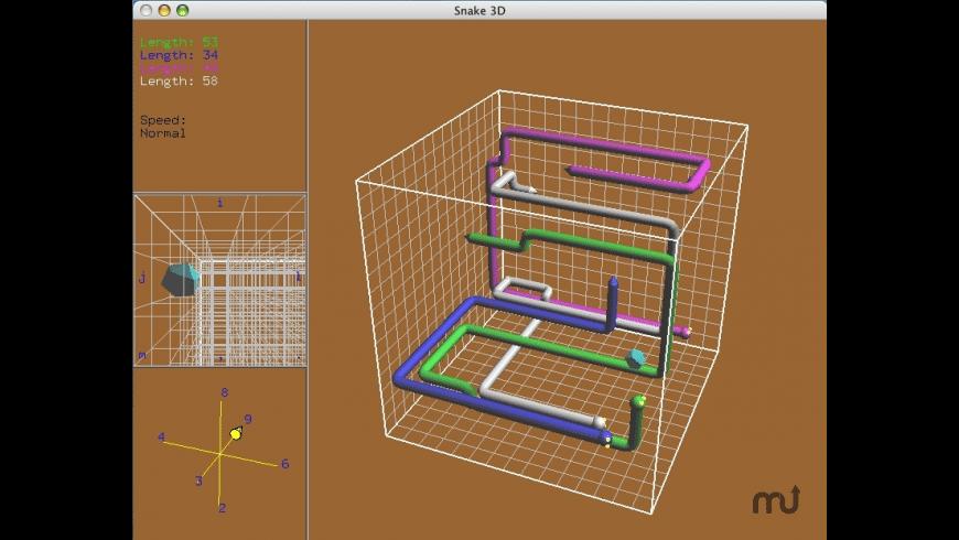 snake3d for Mac - review, screenshots
