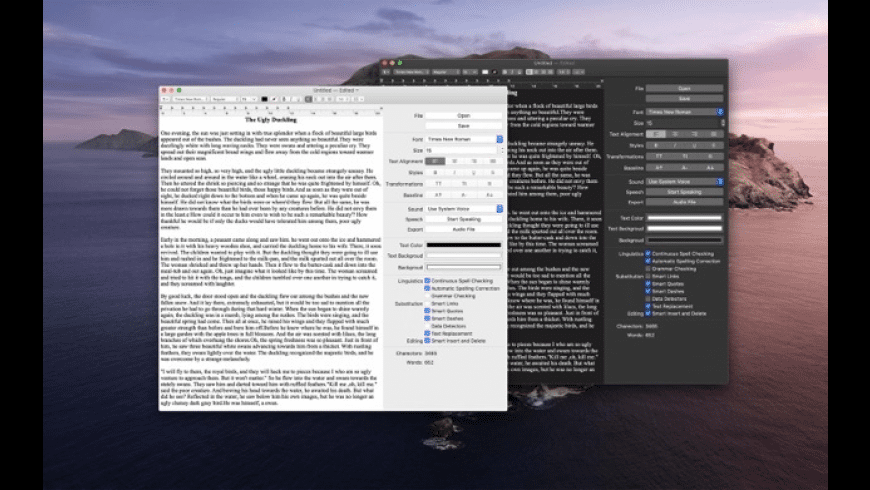 Text Editor for Mac - review, screenshots