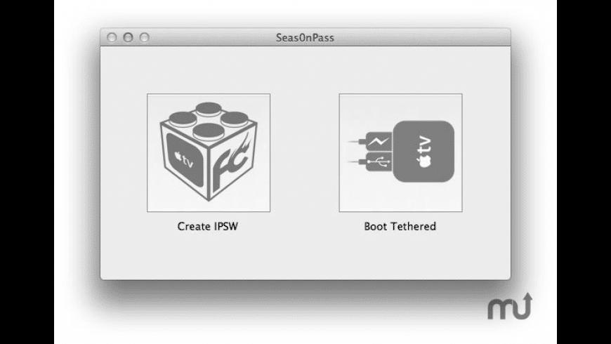 Seas0nPass for Mac - review, screenshots