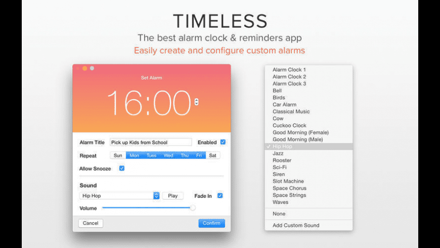 Timeless for Mac - review, screenshots