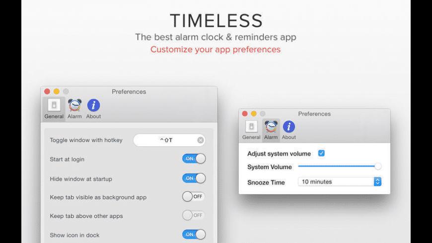 Timeless for Mac - review, screenshots