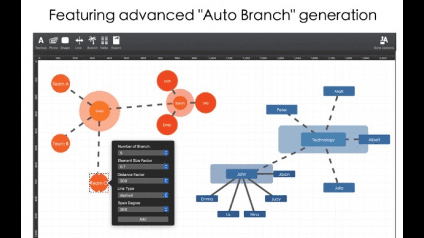 Org Chart Designer Pro 2 for Mac - review, screenshots