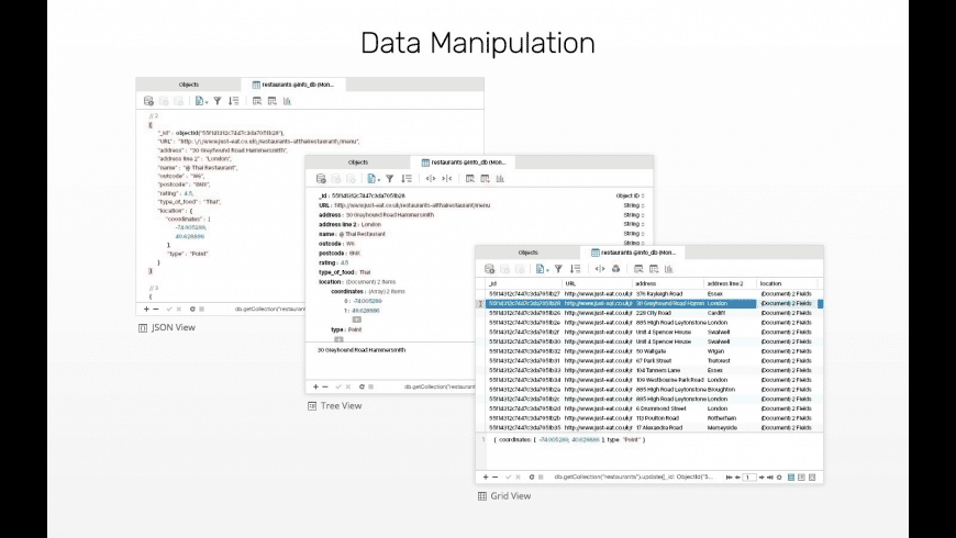 Navicat for MongoDB for Mac - review, screenshots