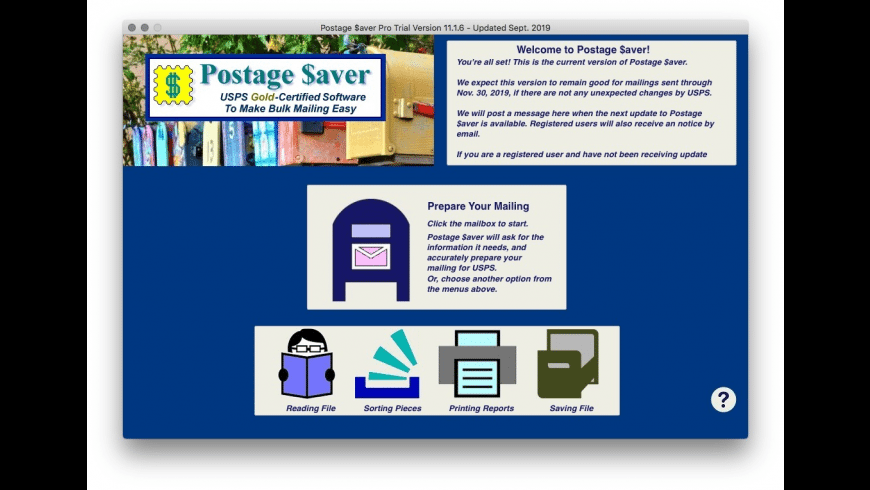 Postage $aver Pro for Mac - review, screenshots