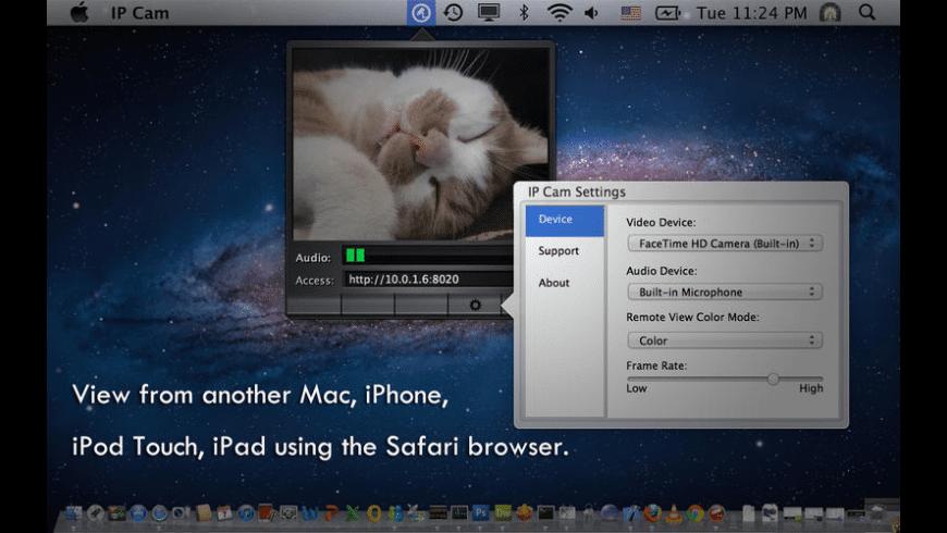 IP Cam for Mac - review, screenshots