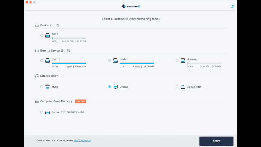 Wondershare Recoverit for Mac - review, screenshots