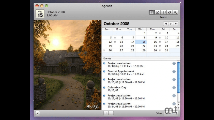 Agenda for Mac - review, screenshots