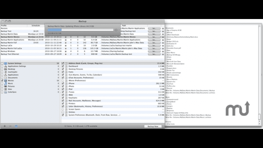 iBackup for Mac - review, screenshots