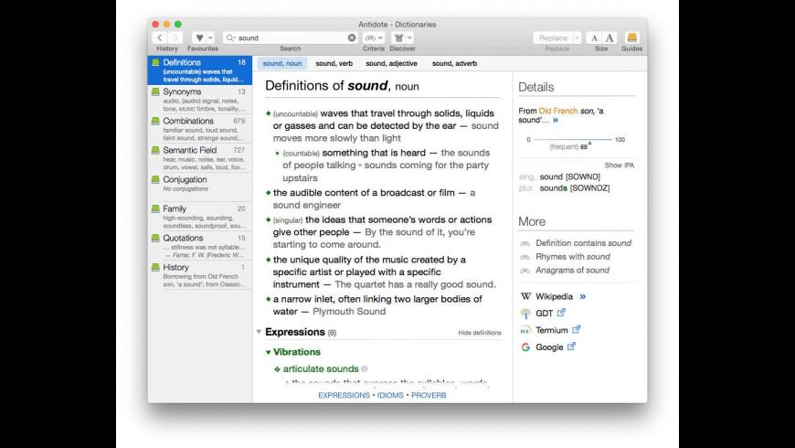 Antidote for Mac - review, screenshots