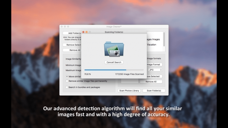 Image Cleaner for Mac - review, screenshots