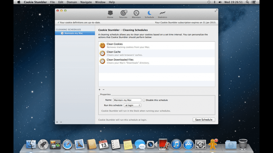 Cookie Stumbler for Mac - review, screenshots